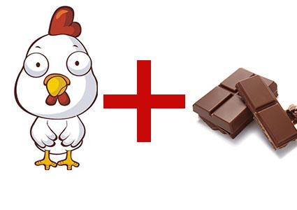 poulet-avec-chocolat